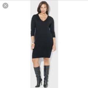 Super sexy. Fitted Ralph Lauren sweater dress